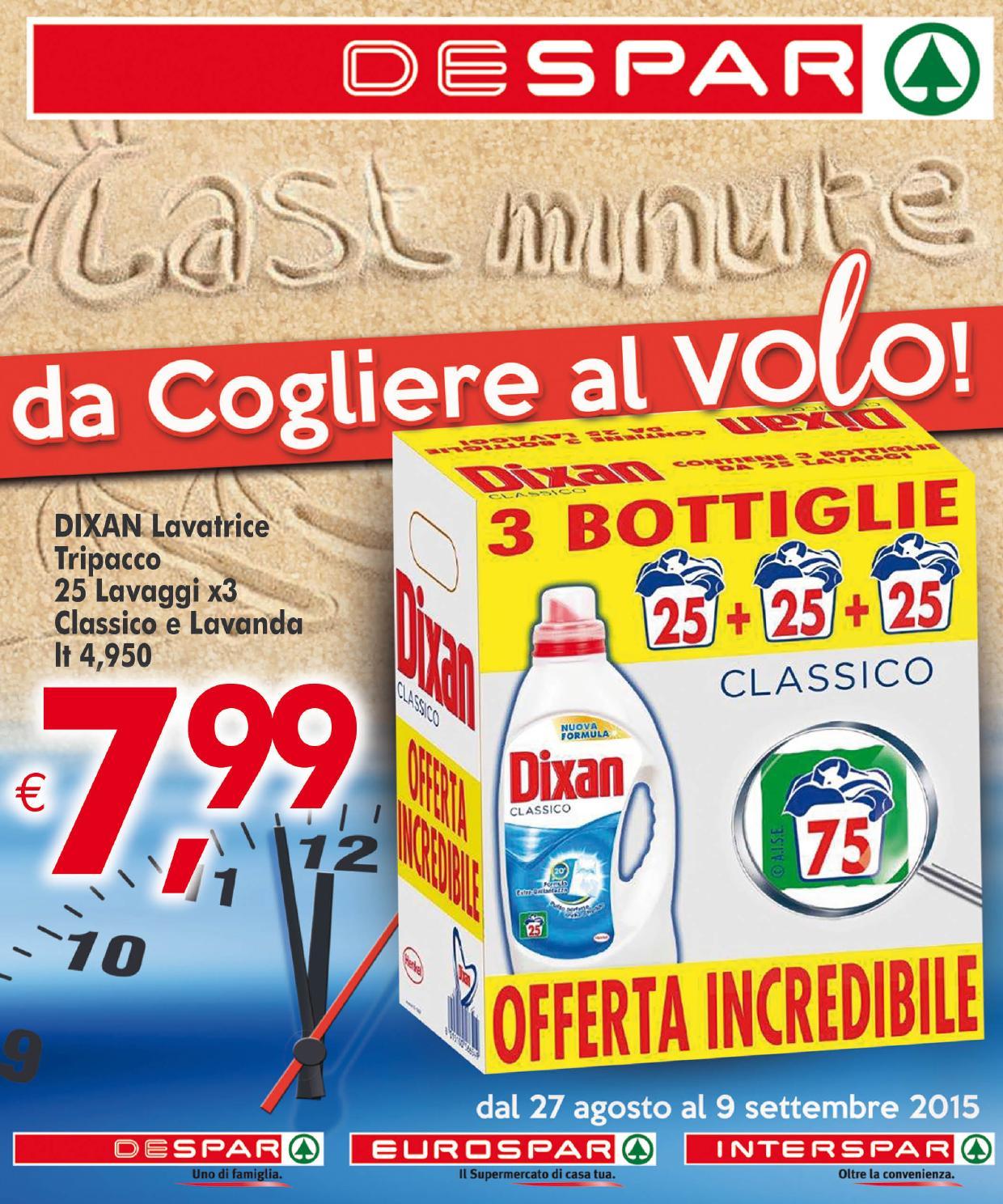 Volantino despar 27 agosto 9 settembre 2015 by despar for Bernava volantino messina