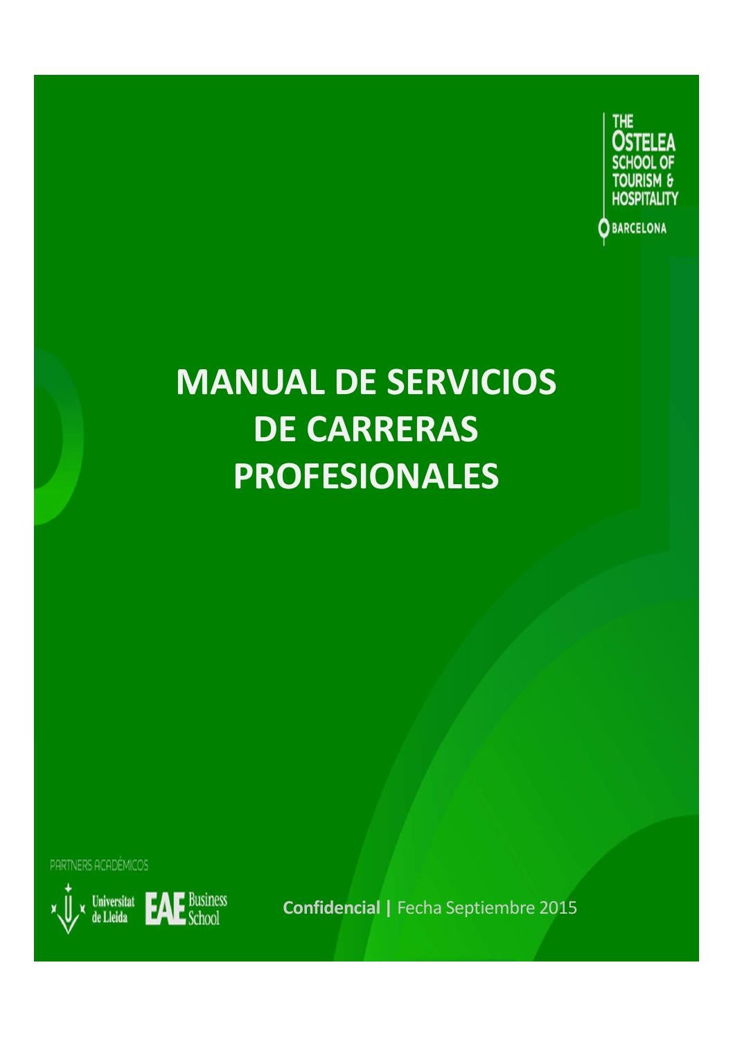 Manual carreras profesionales Ostelea by EAE BUSINESS SCHOOL - issuu