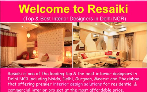 office interior designers in delhi noida gurgaon by resaiki