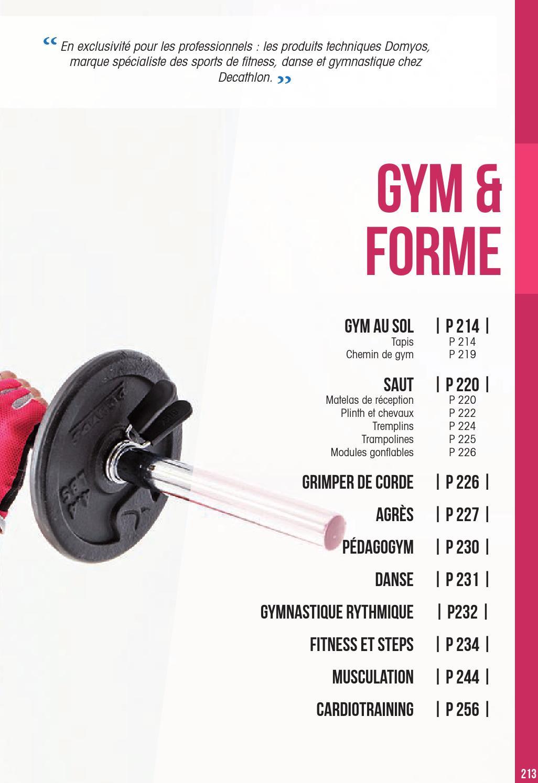 Gym Et Forme 2015 2016 By Decathlon Pro Issuu
