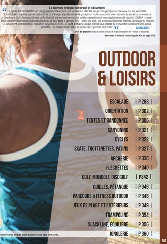 Outdoor Et Loisirs 2015 2016 By Decathlon Pro Issuu
