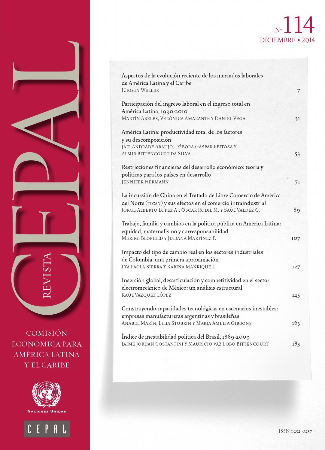 pretty nice 72517 9645a Revista CEPAL Nº114 by Publicaciones de la CEPAL, Naciones Unidas - issuu