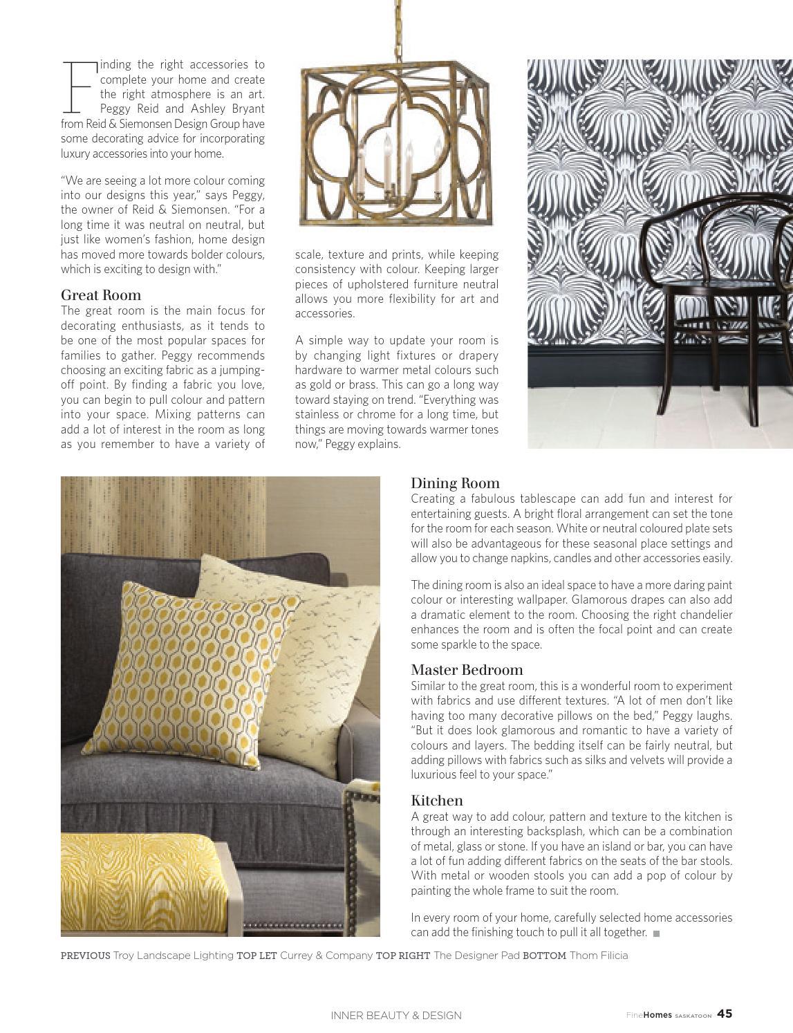 Fine Homes Saskatoon Volume 6 Issue 3 2015 By Fine Lifestyles   Issuu