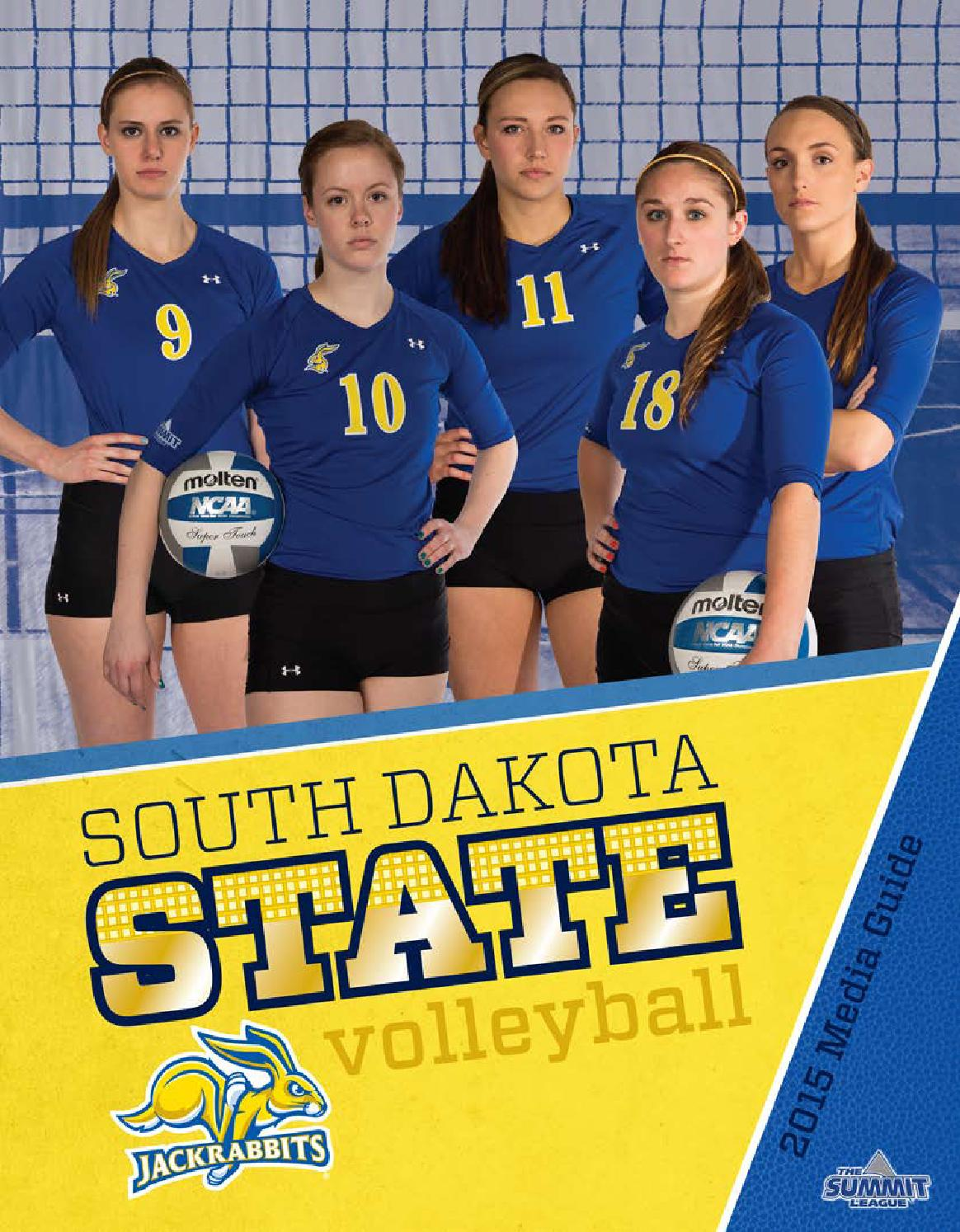 South Dakota State Volleyball Media Guide by South Dakota ...
