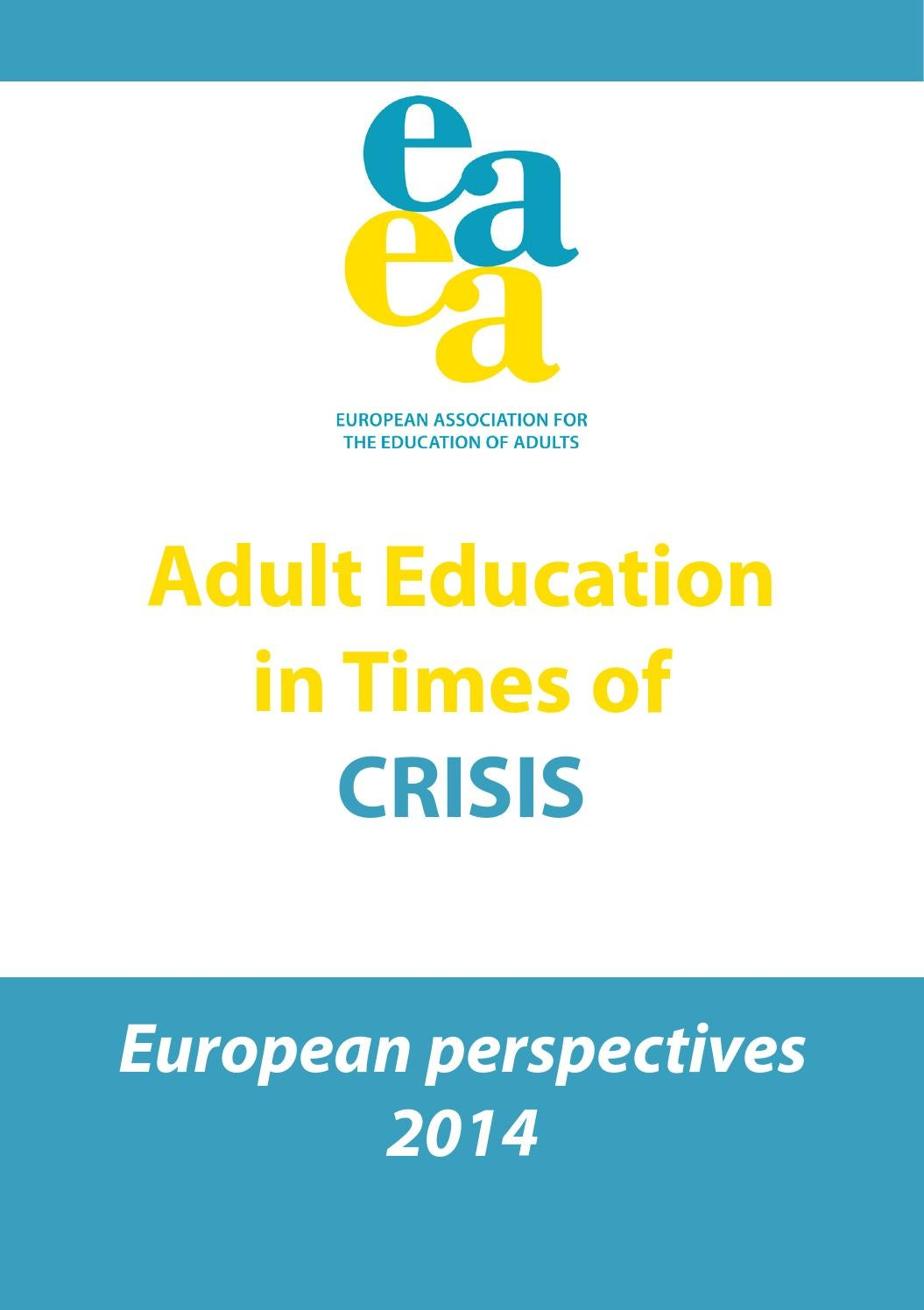 Adult Education In Times Of Crisis2014 Final By EAEA