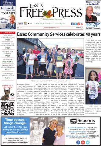 Essex Free Press August 27 2015 By Essex Free Press Issuu