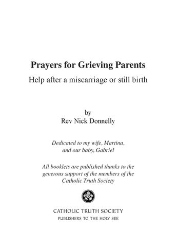 Catholic prayers grieving