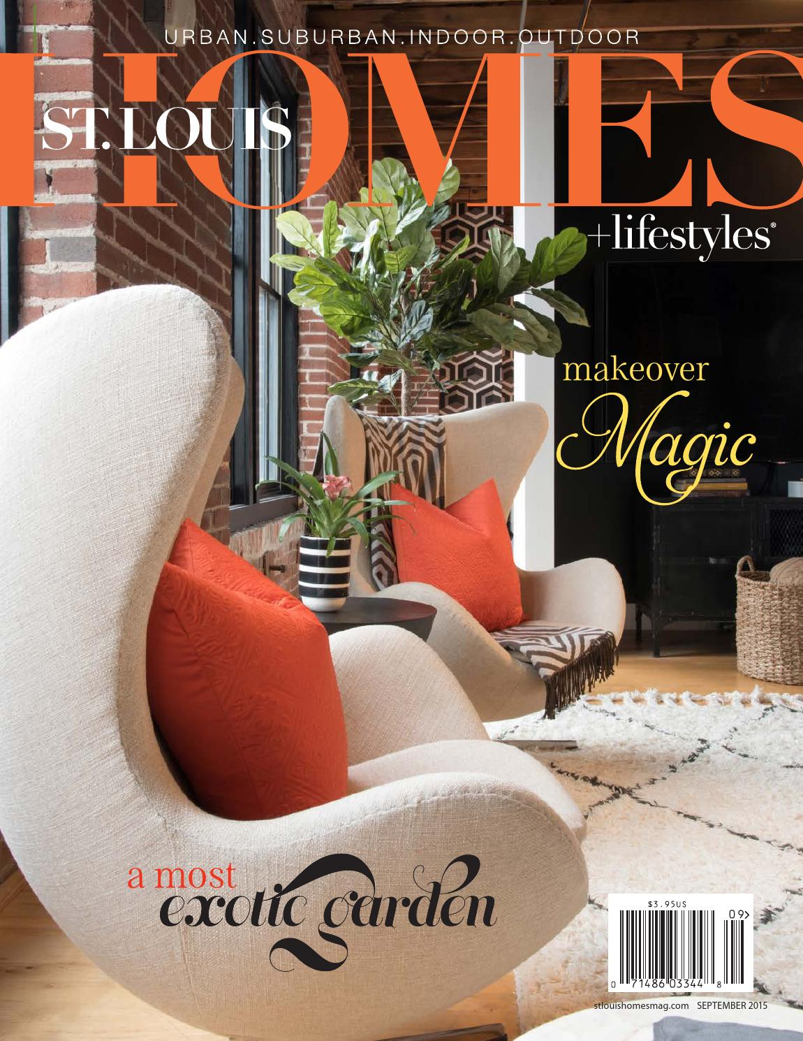September 2015 by St. Louis Homes & Lifestyles - issuu