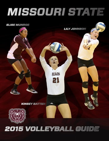 a4a1681549763 2015 Missouri State Volleyball Guide by Missouri State Bears - issuu