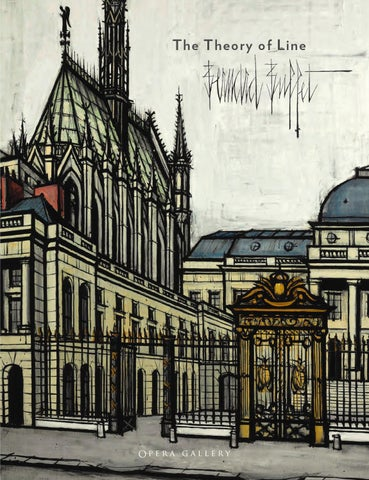 Bernard Buffet - The Theory of The Line by Opera Gallery, Art et ...