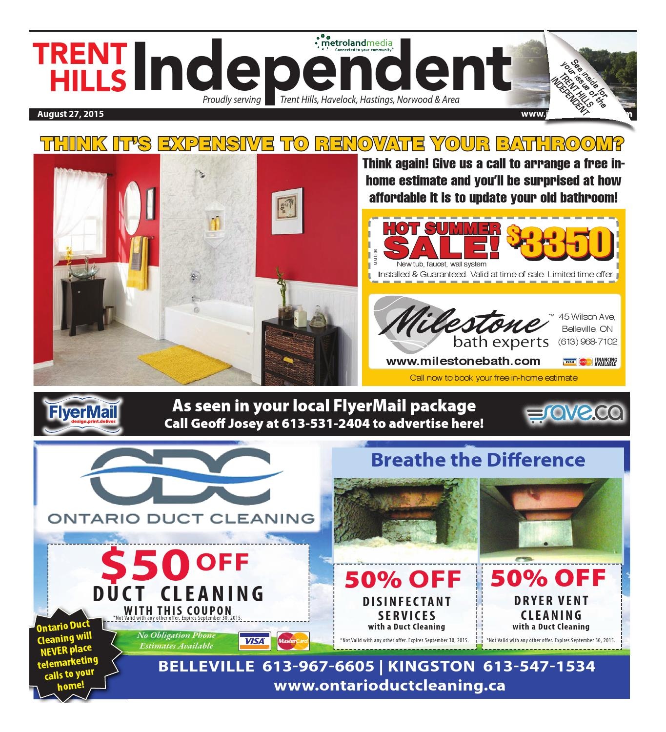 2129fe79b8dc Trenthills082715 by Metroland East - Trent Hills Independent - issuu