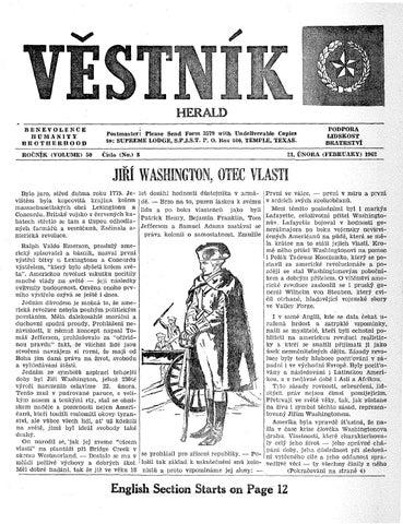 4819a9c3cd8 Vestnik 1962 02 21 by SPJST - issuu
