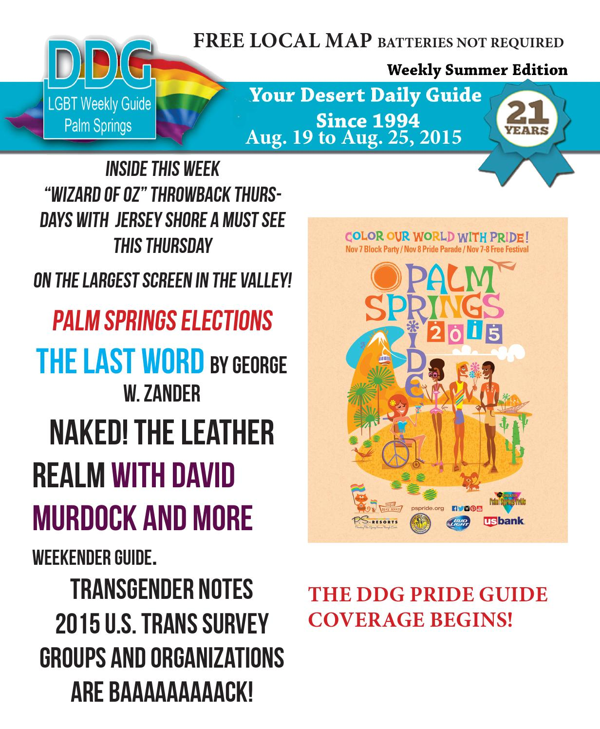 Screen Printing Basics Palm Desert: Week Of August 26, 2015 LGBT Guide To The Palm Springs