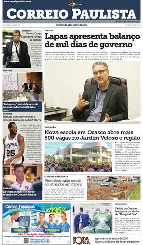 jornal Correio Paulista 1195 by Jornal Correio Paulista - issuu 013d433f0844e