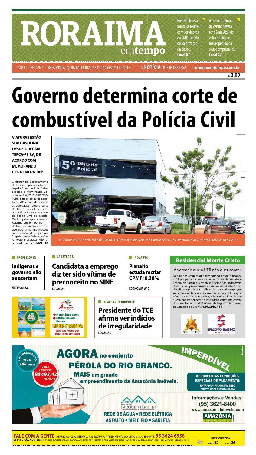 Jornal roraima em tempo – edição 126 – período de visualização gratuito by  RoraimaEmTempo - issuu fe939292c3d