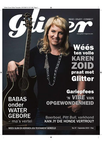 "Cover of ""Glitter september"""