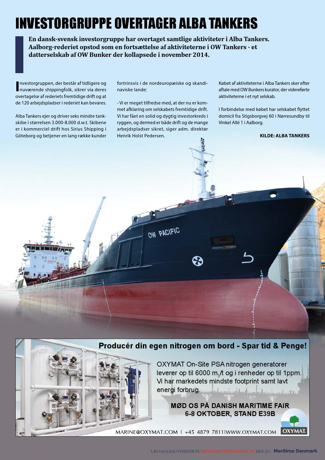 maritimedanmark 9 15 by media group maritime denmark issuu