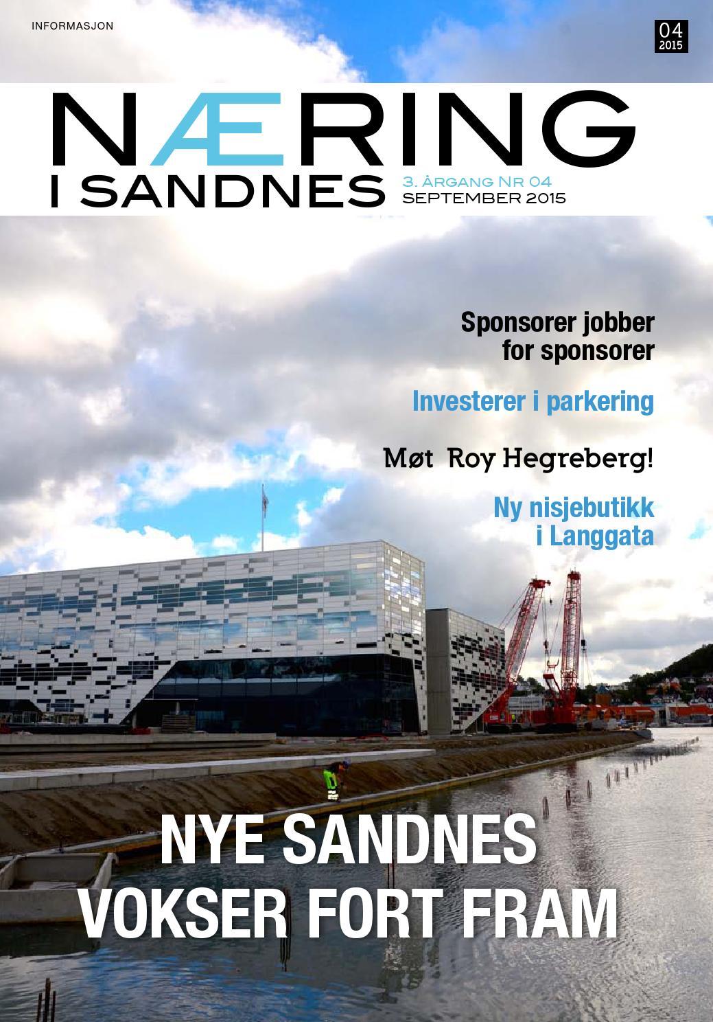 Næring i Sandnes 4-15 by Lokomotiv Media - issuu
