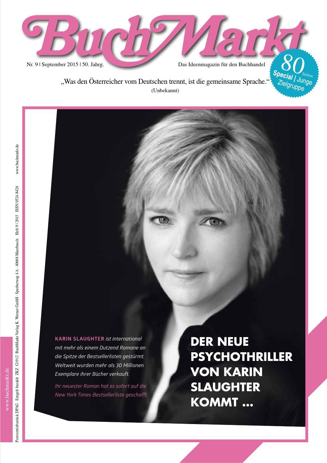 BuchMarkt Leseprobe & Verlagsanzeigen 9/2015 by BuchMarkt - issuu