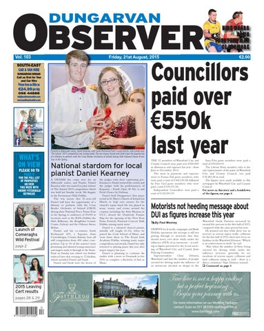 Dungarvan Observer 21 8 2015 Edition By