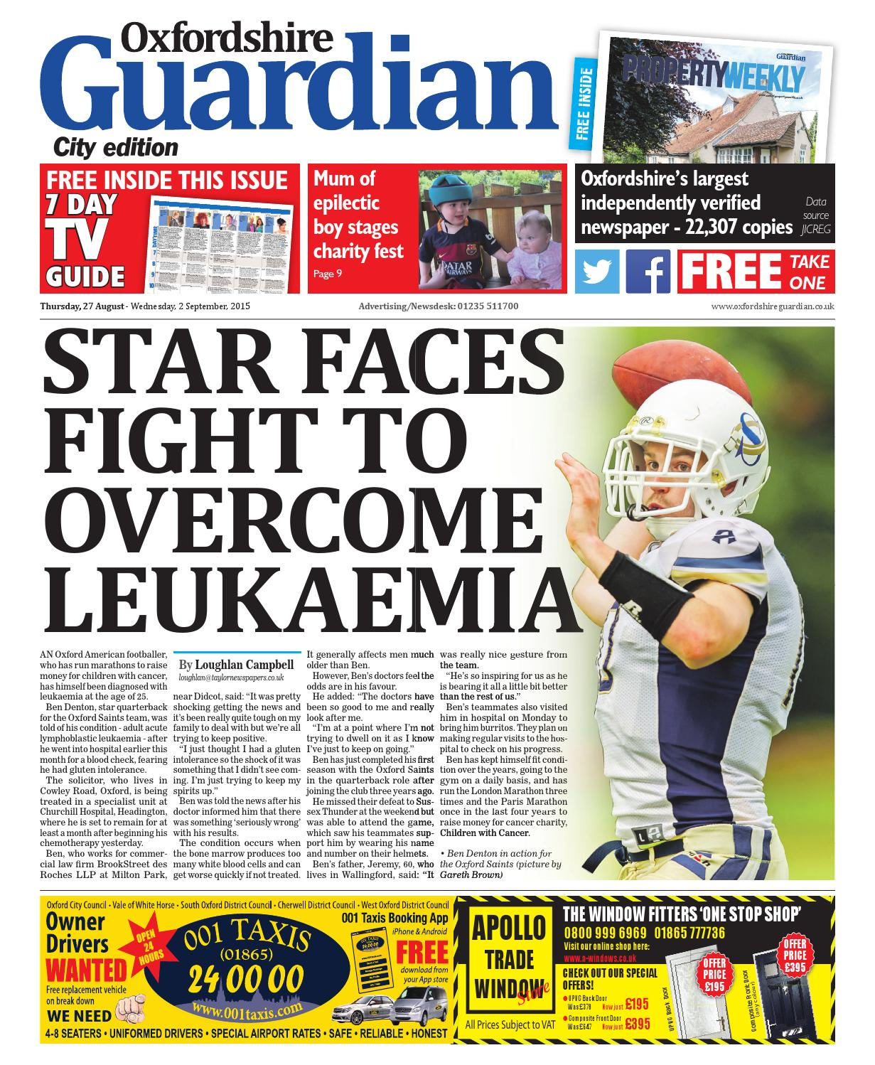 foto de 27 august 2015 oxfordshire guardian city by Taylor Newspapers - issuu