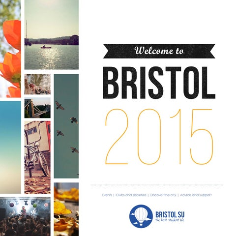 Welcome to Bristol 2015 - a guide to the best student life from