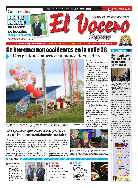 El Vocero Hispano 28 de Agosto de 2015 by El Vocero Hispano - issuu