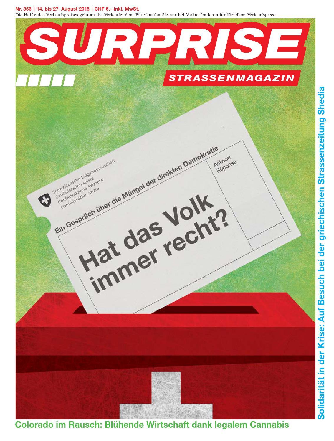 Surprise 356 by Strassenmagazin Surprise - issuu