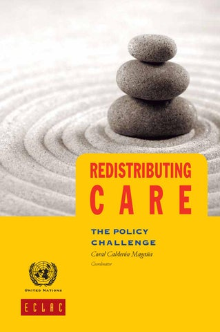 Redistributing Care The Policy Challenge By Publicaciones De La