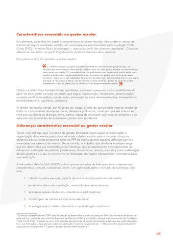 7a26a8f24a3ea Características essenciais ao gestor escolar Inicialmente, para falar em  papel e característica do gestor escolar, não podemos deixar de mencionar  alguns ...