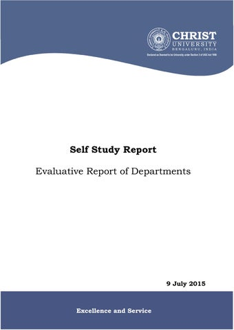 naac evaluative report 2015 by christ university bengaluru issuu