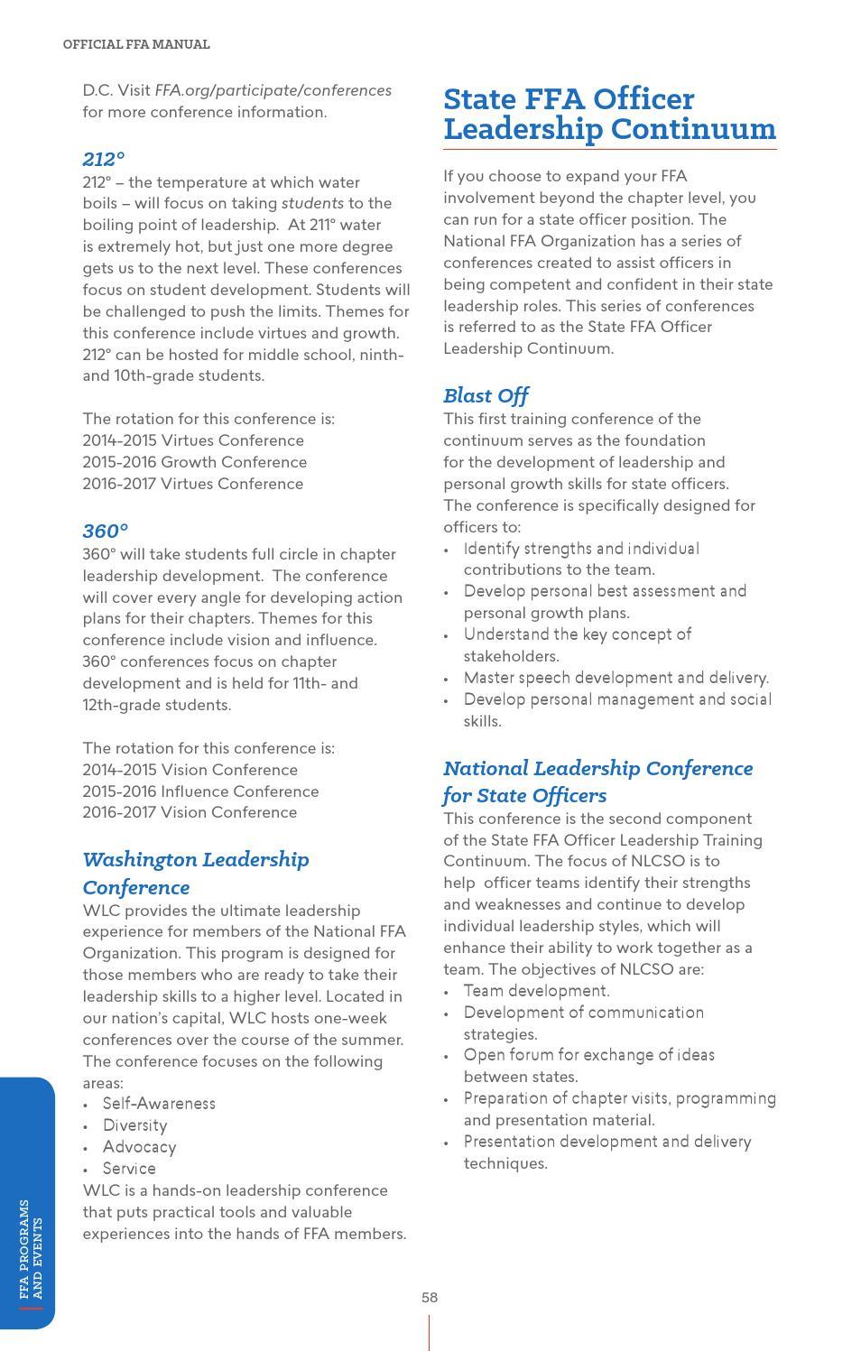 Official FFA Manual - English by National FFA Organization - issuu