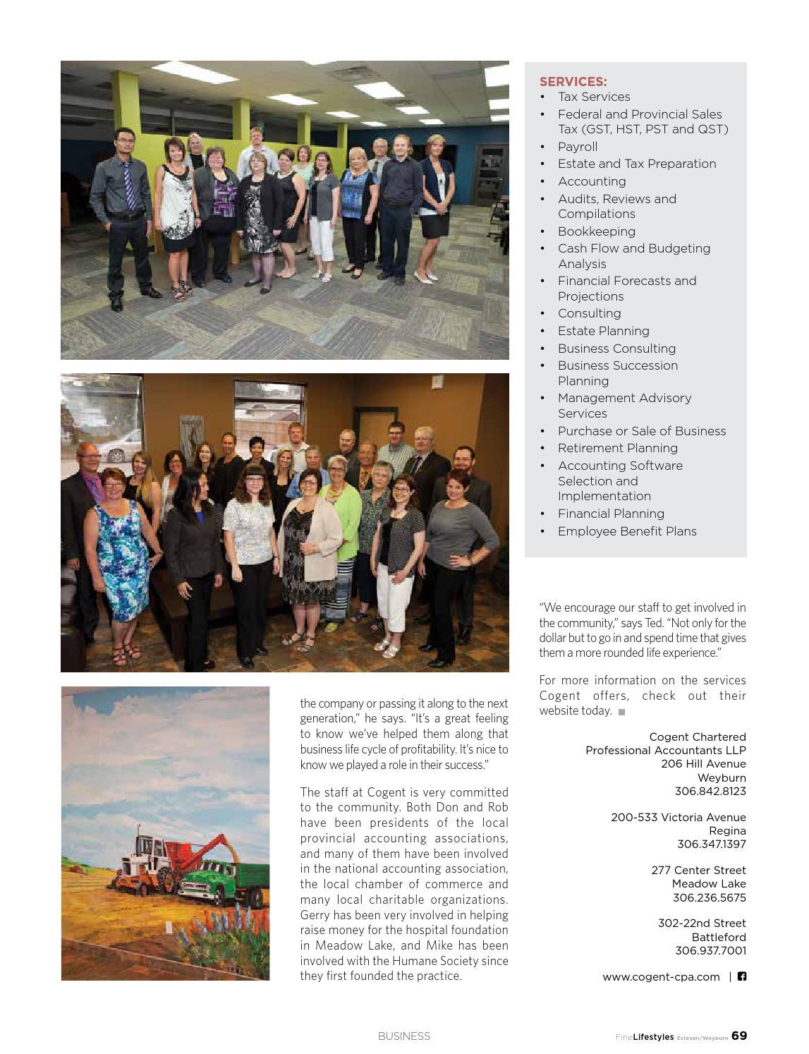 Fine Lifestyles Estevan/Weyburn Volume 4 Issue 5 2015 by