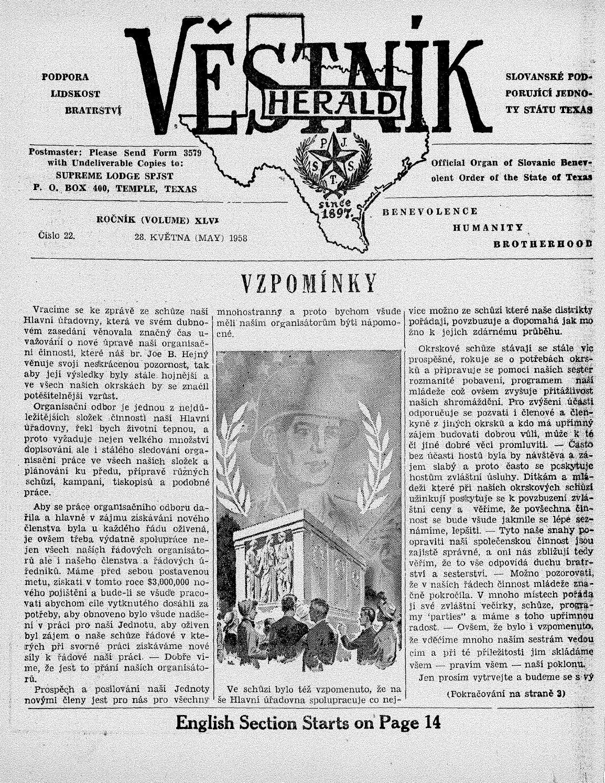 Vestnik 1958 05 28 by SPJST - issuu