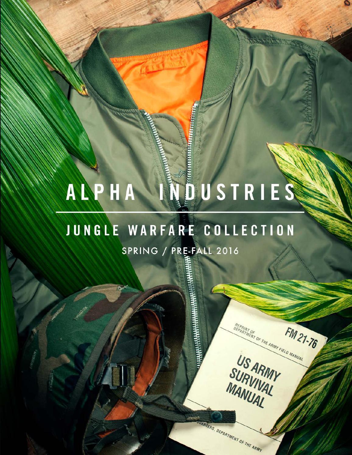 super popular 346b7 49bbd Alpha Industries Spring 2016 Catalog by Rob Schilke - issuu