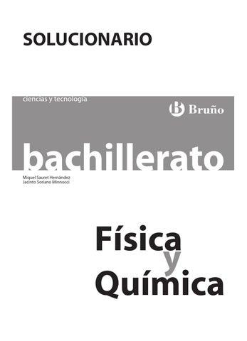 Fyq bach ct solucionario bruño 2008 by Comunidad LA ESPRILLA - issuu