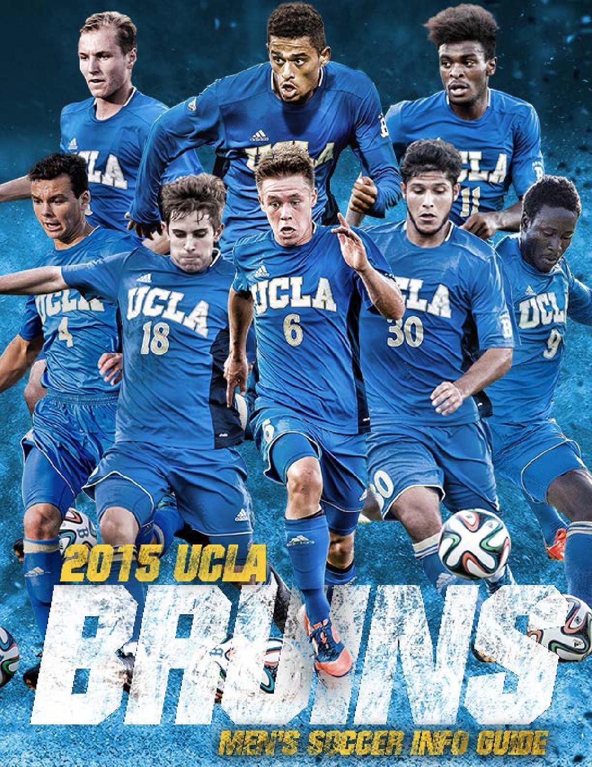 2015 UCLA Men's Soccer Info Guide