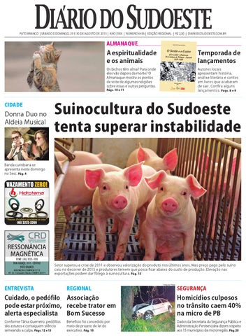 Diário do sudoeste 29 e 30 de agosto de 2015 ed 6456 by Diário do ... c782bffa662d6