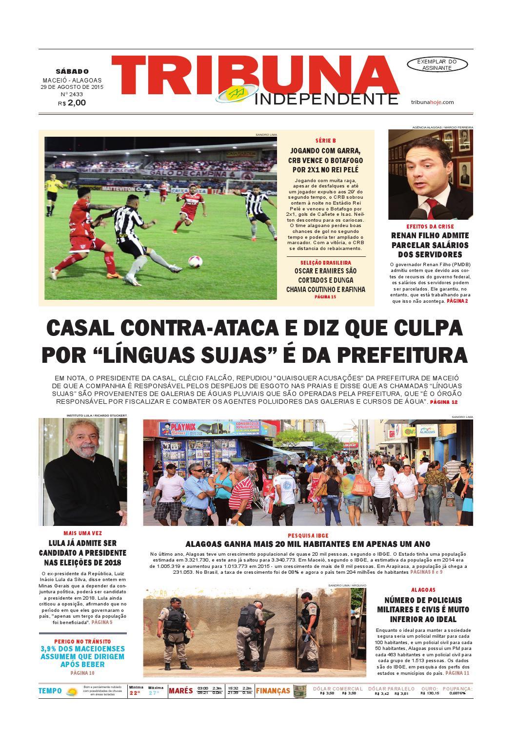 Edição número 2433 - 29 de agosto de 2015 by Tribuna Hoje - issuu 2bd8030117797