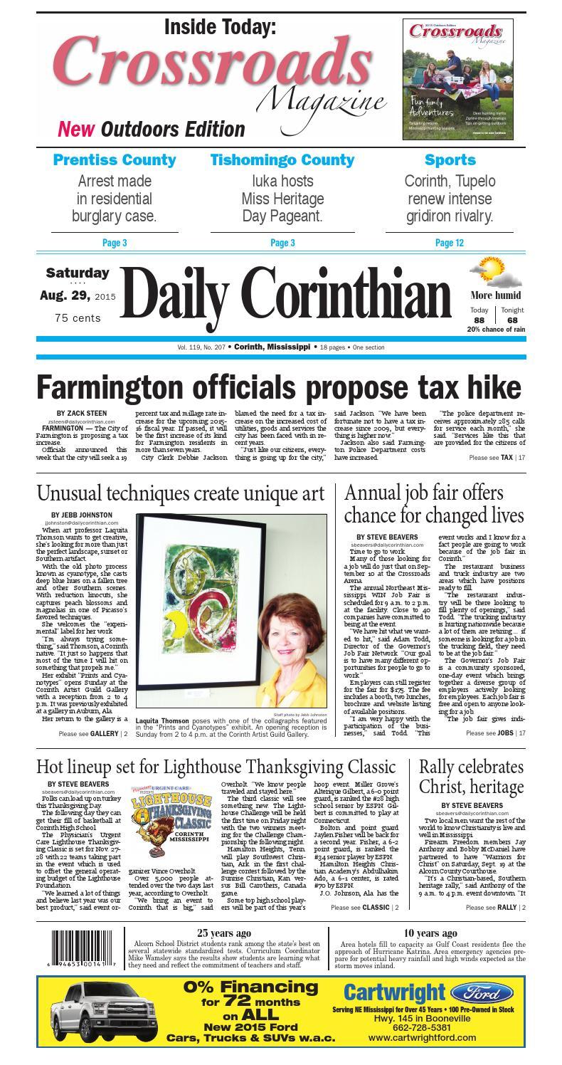 d9f29b5999 082915 daily corinthian e edition by Daily Corinthian - issuu