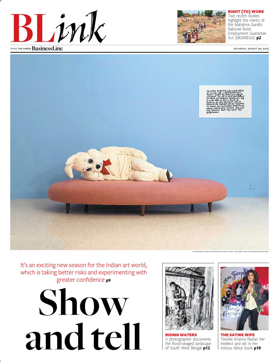 Blink Issue 83 August29 2015 By Partha Pratim Sharma Portfolio Issuu