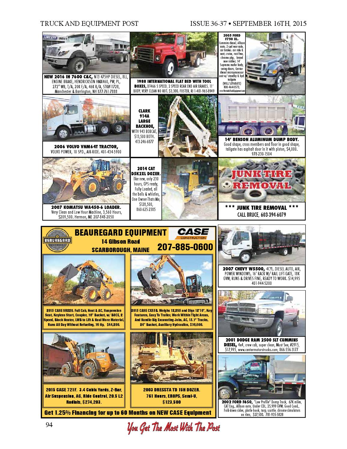 Truck and equipment post 36 37 2015 by 1ClickAway - issuu