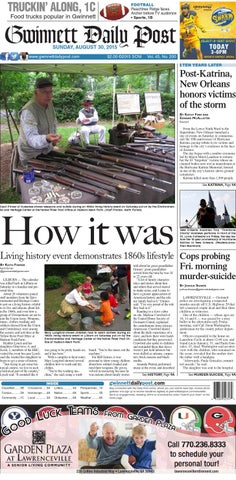 1ede9dee73a78 Gwinnett Daily Post - August 30