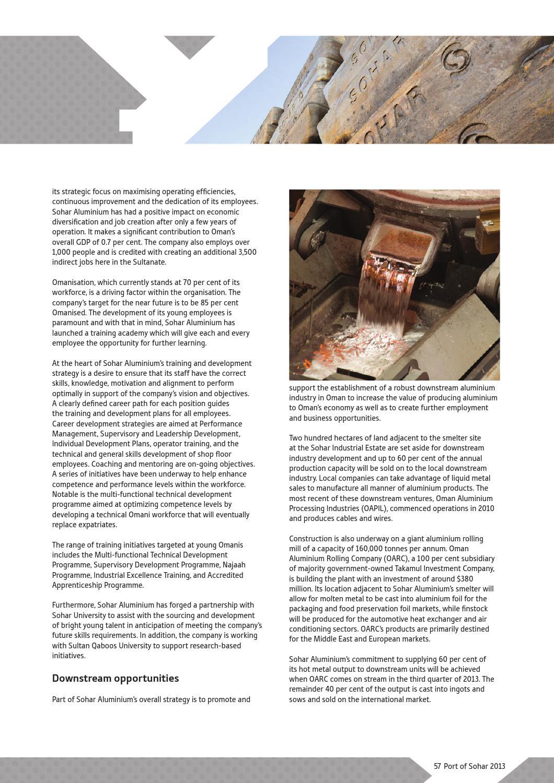 Port of Sohar & Freezone Magazine 2013, issue 6