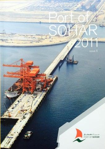 Port of Sohar Magazine 2011, Issue 5 by Oman Establishment for Press