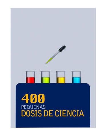 400 pequeñas dosis de la ciencia Rene Drucker y varios autores