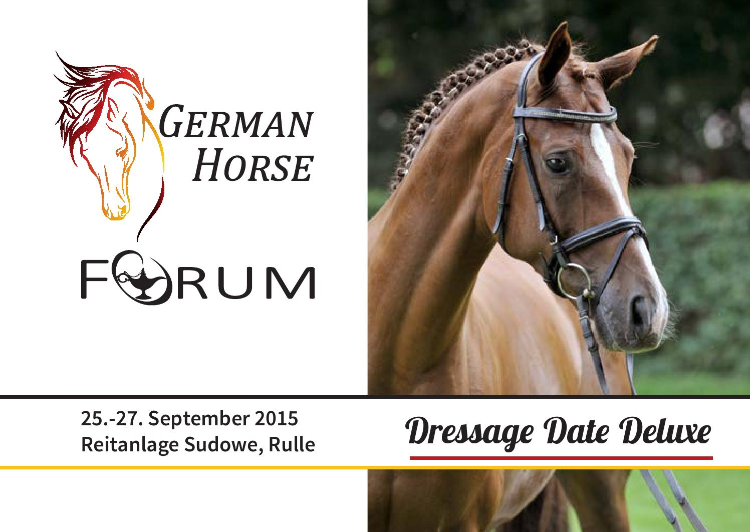 Dressage Date Deluxe 2015 by Equitaris - issuu