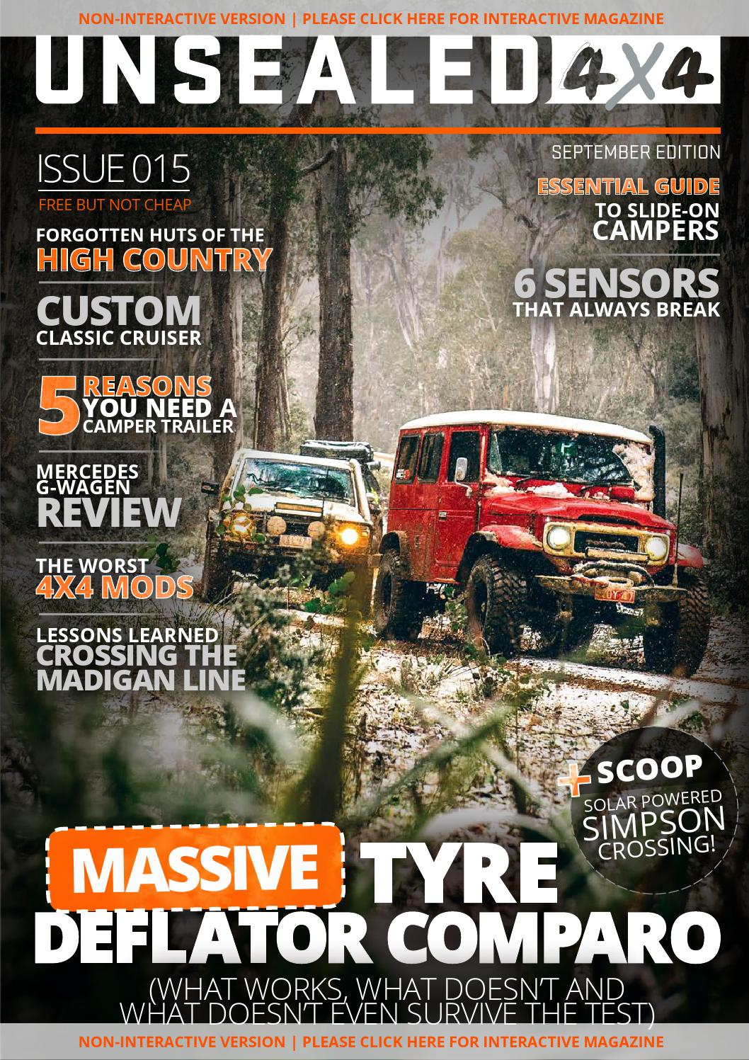 UNSEALED 4X4 ISSUE 015 by UNSEALED 4X4 - issuu