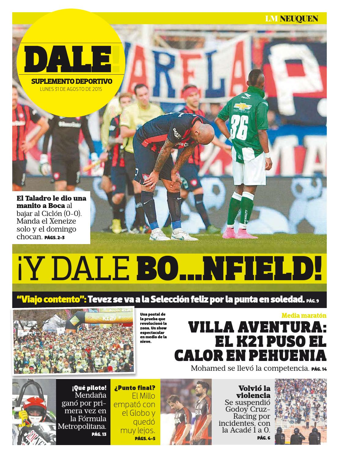 Dale31082015 by Diario LM Neuquén - issuu f7eb26ebbed