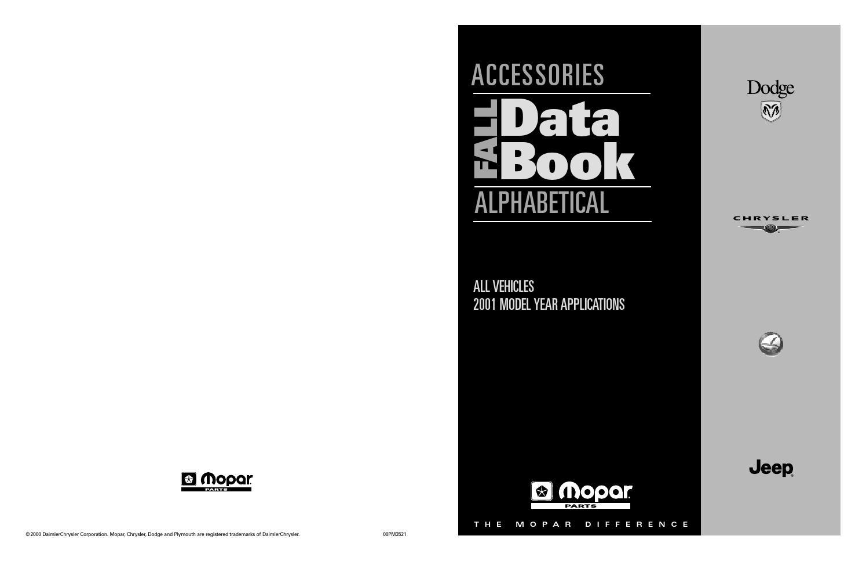 Mopar 2001 accessories data book by memo nunez issuu fandeluxe Images